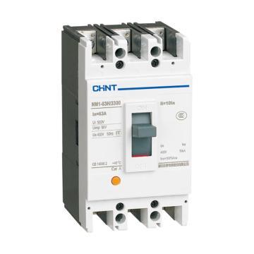 正泰CHINT NM1系列塑料外壳式断路器,NM1-250H/4300B 100A