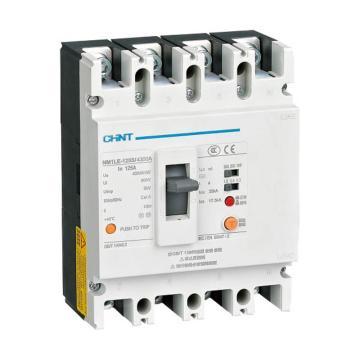 正泰CHINT NM1LE系列剩余电流动作断路器,NM1LE-400S/4300A 400A200.300.500mA无接线板