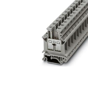 菲尼克斯PHOENIX 直通式接线端子,UK16N 3006043,50个/包