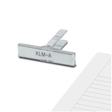 菲尼克斯PHOENIX 端子板标识套件,1004322 KLM-A + ES/KLM 2-GB,50个/盒