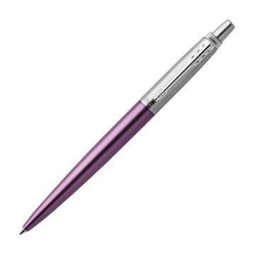 派克笔,乔特 维多利亚紫白夹凝胶水笔 单支装