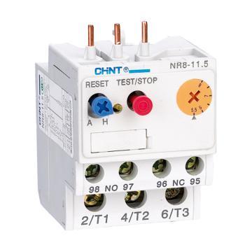 正泰CHINT NR8系列热过载继电器,NR8-11.5 0.1-0.16A