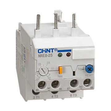 正泰CHINT NRE8系列电子式过载继电器,NRE8-25 10-20A
