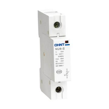 正泰CHINT NU6-II系列电涌保护器,NU6-Ⅱ 40kA/275V 2P