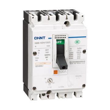 正泰CHINT NM8系列塑料外壳式断路器,NM8-100S/16/3/M
