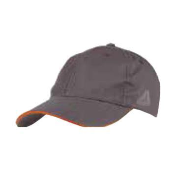 代尔塔DELTAPLUS 棒球帽,405100-GR,VERONA 马克2系列 经典棒球帽 灰色