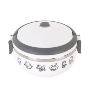 德鉑Debo沃爾保溫飯盒,不銹鋼單層卡通兒童學生飯盒密封700mlDEP-170