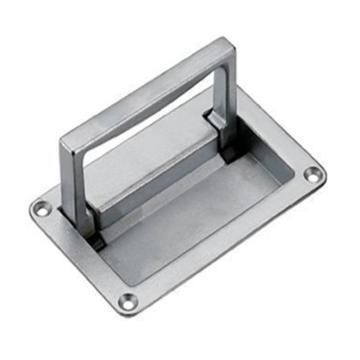 恒珠 面板拉手,PL002-1,喷沙镀铬