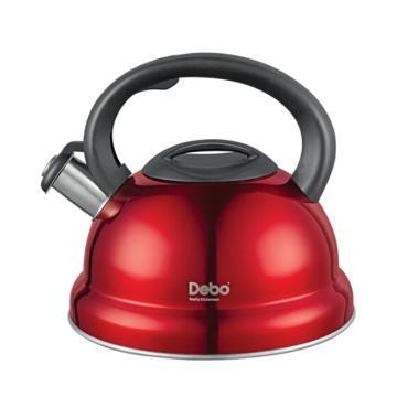 德鉑Debo德國海格爾鳴笛水壺,煤氣電磁爐通用3L DEP-201
