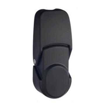 恒珠 搭扣锁,DKS-2-2,无锁芯,黑色