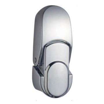 恒珠 搭扣锁,DKS-1-2,无锁芯,亮铬