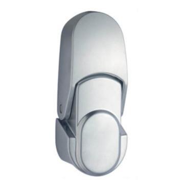 恒珠 搭扣锁,DKS-1-2,无锁芯,沙铬