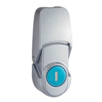 恒珠 搭扣锁,DKS-2-1,有锁芯,沙铬