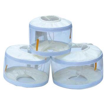 德泰 PVC聚氯乙烯法蘭防噴濺保護罩(中間透明),PVC-2,DN15,16公斤