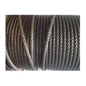 光面无油钢丝绳,6*19,直径8mm