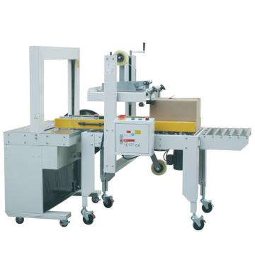 西域推荐 自动封箱打包机,适用纸箱:(L)300-600(W)200-500(H)150-500mm,型号:RPI-11