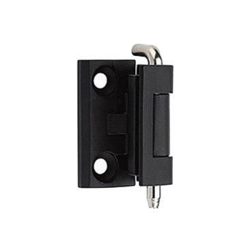 恒珠 插销式暗铰链,HL004-1,卡式铰链,黑色