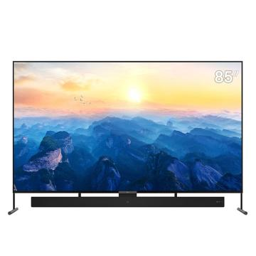 TCL 液晶電視,85X6A 4K超高清 彩電 哈曼卡頓私人影院 黑 多屏互動微信互聯重構版 、聲音回傳