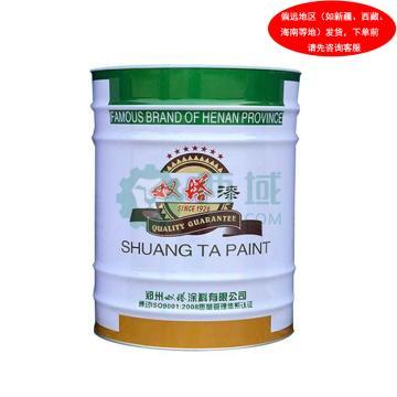 双塔 醇酸调和漆,中黄,国标色卡图号:GSB05-1426-2001 49 Y07,3.5KG/桶
