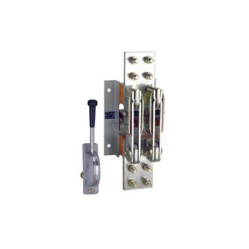 正泰 HS13系列电动式和手动式大电流刀开关,HS13-1000/41胶板无机构手柄