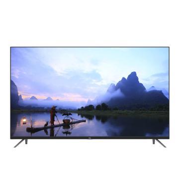TCL 液晶電視機,55A360 55英寸觀影王 4K超高清HDR安卓智能(黑色)