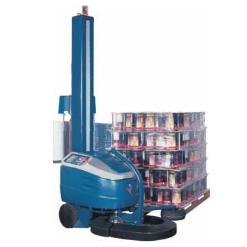 西域推荐 自走式缠绕膜包装机,捆包物尺寸:宽>600mm,长>600mm,高:2400mm,型号:SW-1600