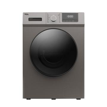TCL 免污变频滚筒洗衣机 ,超大容量 9公斤(皓月银) XQGM90-14302BH