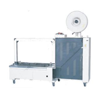 西域推薦 低床全自動打包機,弓架尺寸:800W*600H(mm),臺面高度:450mm,型號:WJ-85LSU