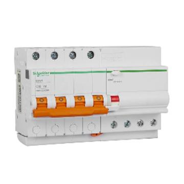 施耐德Schneider Easy9微型漏电保护断路器 4P C32A/30mA/AC,EA9RN4C3230CNEW(2的倍数订货)