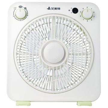 艾美特 10寸臺式轉頁扇,FB2558T2,定時停機,傾倒斷電,4檔風量