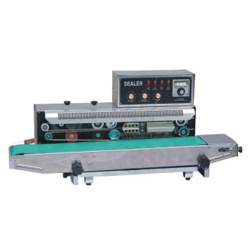 西域推荐 卧式墨轮印字封口机,封口宽度:6-15mm,输送承载:5kg,型号:WS-850