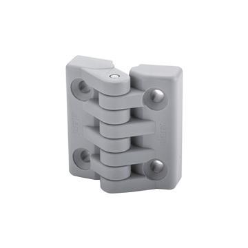 伊莉莎+冈特 铰链,镀镍铜衬套带螺纹孔,CFA.40 B-M4,灰黑色,1个