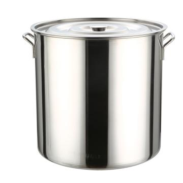 西域推荐 不锈钢桶,材质:201 直径25cm 高度25cm