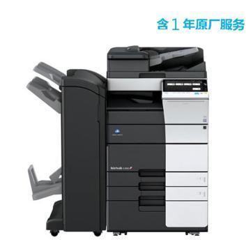 柯尼卡美能達 打印機,bizhub C458 中高速45頁/分鐘彩色復印/打印一體機,高配含1年原廠服務