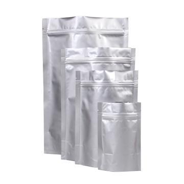 西域推薦 鋁箔自封袋,尺寸:350*500mm,雙面厚度:24絲,50只/包