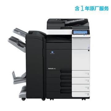 柯尼卡美能達 打印機,bizhub 308e 中速30頁分鐘黑白復印/打印一體機,高配含1年原廠服務
