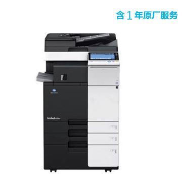 柯尼卡美能達 打印機,bizhub 308e 中速30頁/分鐘黑白復印/打印一體機,中配含1年原廠服務