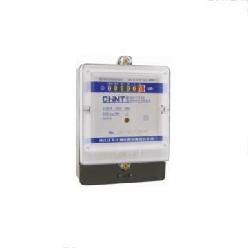 正泰CHINT DDS7777型单相电子式电能表,DDS7777 220V5(20)A 1级计度器