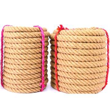 西域推薦 麻繩包裝繩,直徑:10mm,單位:米