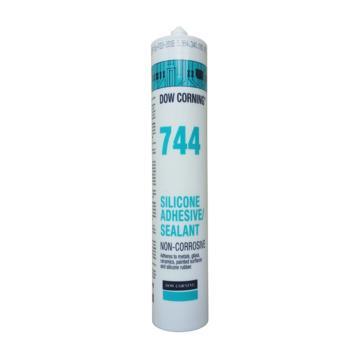 陶熙 有機硅膠,744,白色,通用型,310ml/支