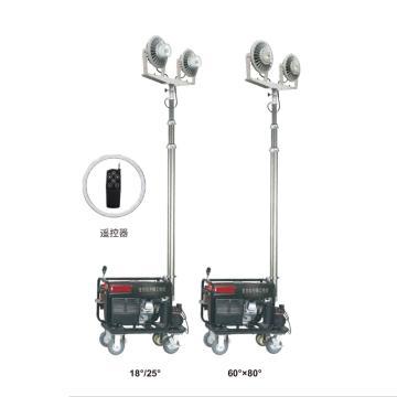 通明电器 LED全方位遥控泛光工作灯,ZW3500D-L240X2 功率2X240W,单位:个