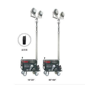 通明电器 LED全方位遥控泛光工作灯,ZW3500D-L150X2 功率2X150W,单位:个
