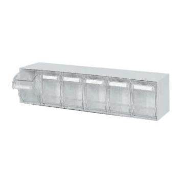 西域推荐 抽屉式零件盒,尺寸(mm):600*91*113,型号:T6-K
