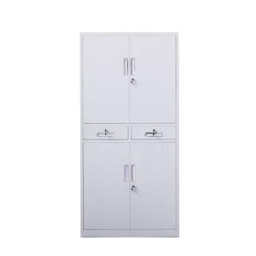 中二斗双节柜,钢板厚度0.6 ZY-G007 1800*850*390钢制