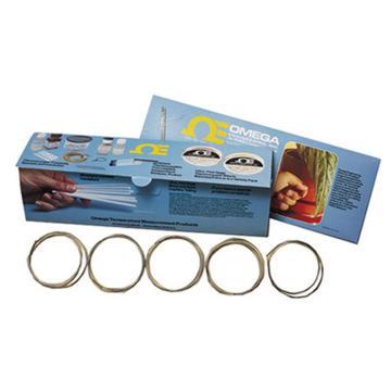 OMEGA 5TC绝缘热电偶成品 配备裸线头,每盒5根,每根1米,5TC-TT-K-24-36