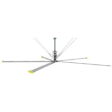 开勒 工业节能风扇,HVLS-D4BAA73,直径7.3m,12100m3/min,包上门安装及辅材。先询后订