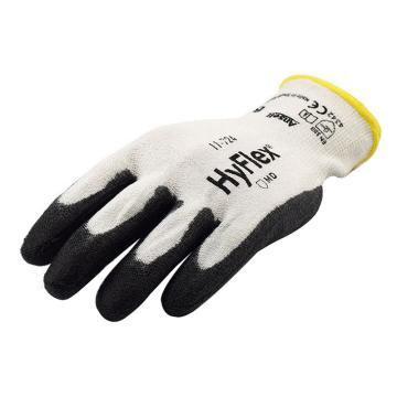 安思尔Ansell 3级防割手套,11-724-8,HyFlex系列 掌部PU涂层,1副
