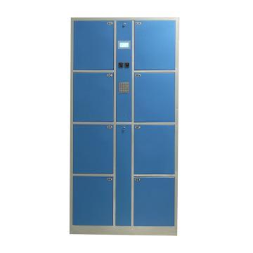 实验室8门数字密码柜,外型尺寸:H1800×W850×D460mm,单格H407XW300XD460mm