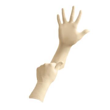 安思尔Ansell 100级洁净室手套,CE5-512-M,MicroFlex 天然橡胶材质29cm长,100只/包 10包/箱