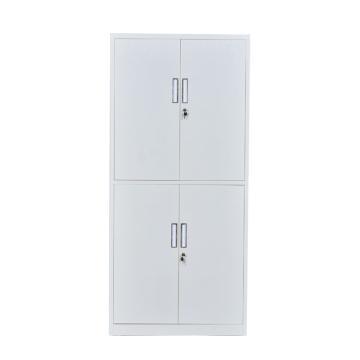 通体双节柜,钢板厚度0.6 ZY-G006 1800*850*390钢制